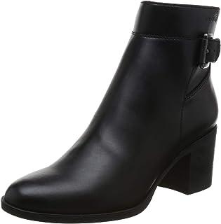 "Geox Asheel 1 Zip Ankle Boot, 2.5"" Heel womens Ankle Boot"