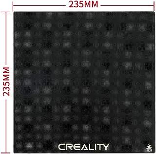 Upgraded Creality 3D Printer Platform Tempered Glass Plate 235x235 for Ender 3 / Ender 3 Pro Ender 5 Hot Bed