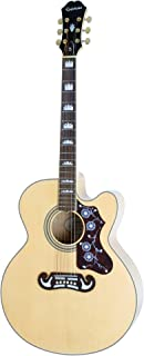 Epiphone EJ-200SCE Acoustic/Electric Guitar (Natural)