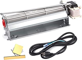 BBQ-Element FK12 Replacement Fireplace Blower Fan Kit for Majestic, Monessen, Martin, Vermont Castings, Temco, Lennox Fireplaces, Rotom R7-RB12, HB-RB12