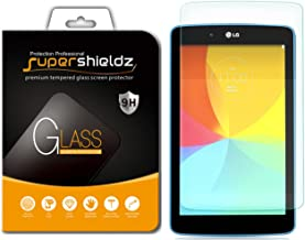 Supershieldz for LG G Pad 7.0 and G Pad 7.0 LTE Tempered Glass Screen Protector Anti Scratch, Bubble Free