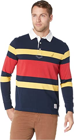 Long Sleeve Rugby Stripe Shipman
