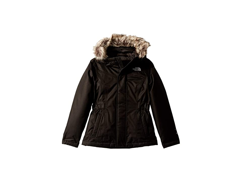 The North Face Kids Greenland Down Parka (Little Kids/Big Kids) (TNF Black/TNF Black) Girl