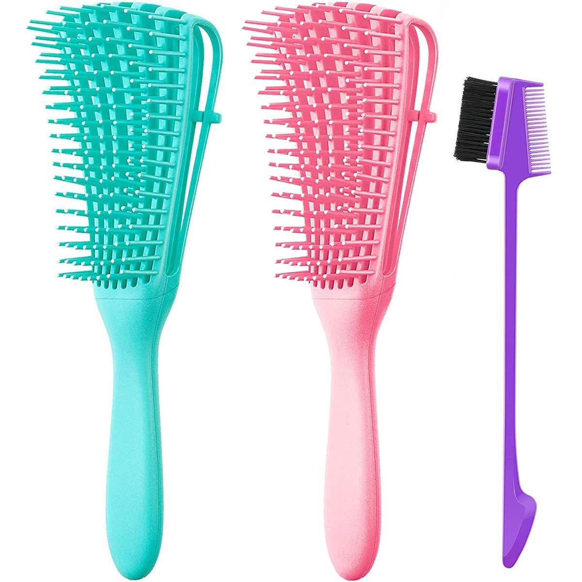 Long Sale Special Price Beach Mall Detangler Hair Brushes Detangling Brush Africa America for Afro