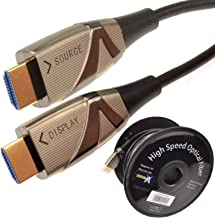 HDMI Active Optical Cable AOC Fiber Optic HDR 4K 2160P Ultra Slim 25m (~82 feet)