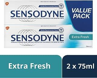 Sensodyne Extra Fresh Toothpaste, Value Pack (2x75 ml)