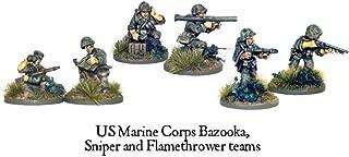 Bolt Action USMC Bazooka, Sniper & Flame Thrower Teams