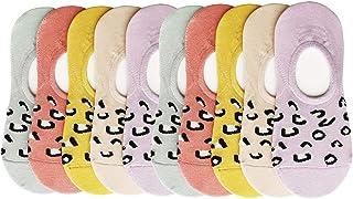 CHUNG Toddler Little Girls Thin No Show Cotton Socks Summer 10 Pack 1-9Y Fashion Fun Casual