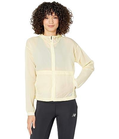 New Balance Impact Run Light Pack Jacket (Clear Yellow) Women