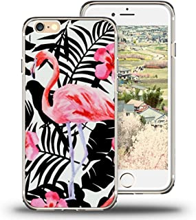 iPhone 6 Case, iPhone 6S Case, Viwell Design Pattern Case, High Impact Protective Case for iPhone 6 and iPhone 6S Pink flamingo