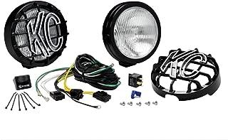 KC HiLiTES 127 SlimLite Black 100-Watt Fog Light System