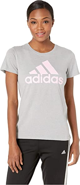 Medium Heather Grey/True Pink
