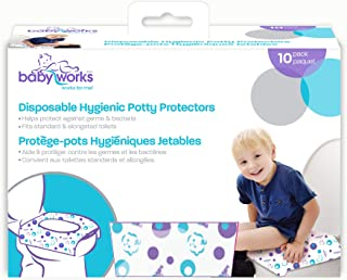 Babyworks Disposable Potty Protectors - 10pk , Piece of 1