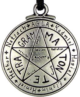 Talisman For Love Tetragrammaton Seal of Solomon Pentacle Pendant Hermetic Enochian Kabbalah Pagan Wiccan Jewelry