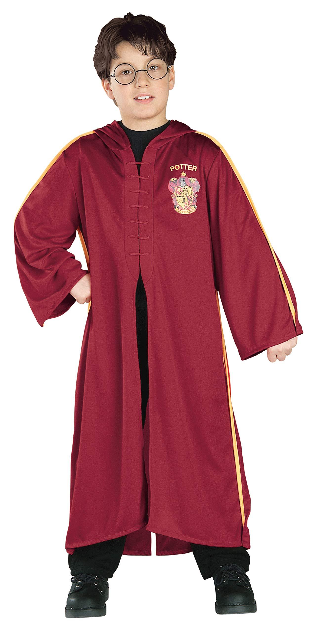 Disfraz de Harry Potter túnica Quidditch niño - 5-7 años: Amazon ...