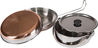 STANSPORT - Stainless Steel Mess Kit for Camping,Backpacking & Outdoors