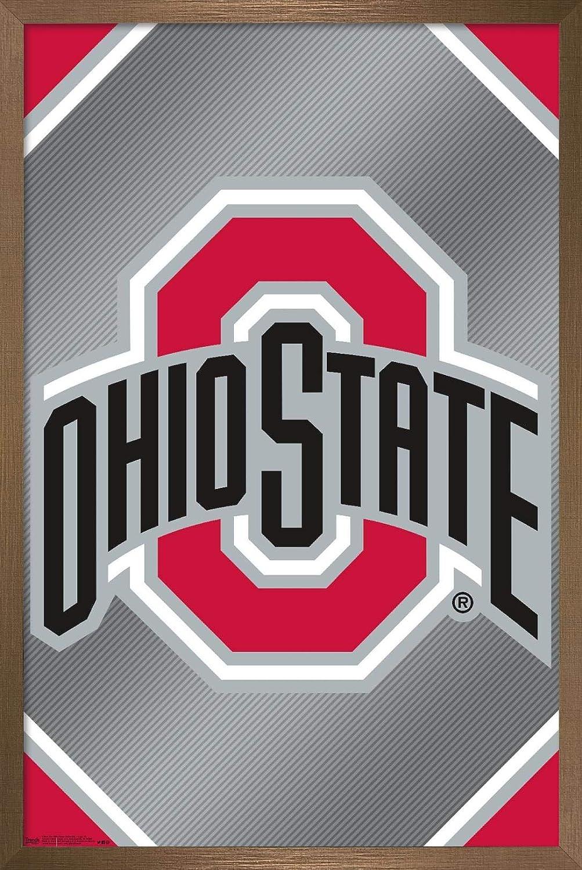 Trends International 新商品 Collegiate - The State 中古 Buck University Ohio