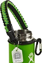 Gearproz Paracord Handle for Hydro Flask - America's No. 1 Paracord Survival Strap Carrier for Hydroflask Wide Mouth Water...