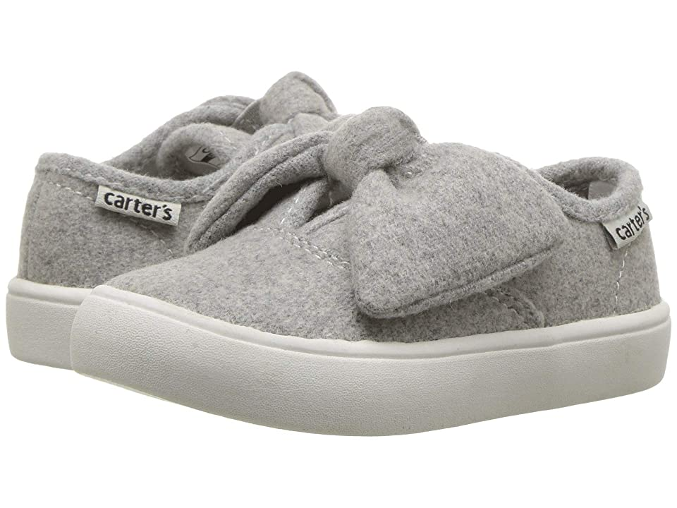 Carters Azura (Toddler/Little Kid) (Grey Wool) Girl