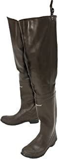 Classic Rubber Bootfoot Hip Wader, Cleated Outsole