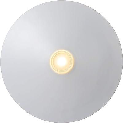 Lucide 79180/12/31 Plafonnier, Acier, LED intégré, 12 W, Noir