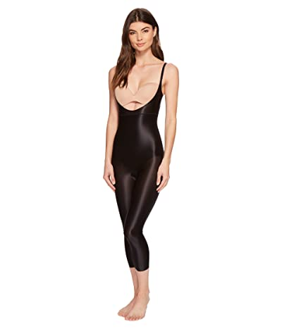 Spanx Suit Your Fancy Open-Bust Catsuit (Very Black) Women