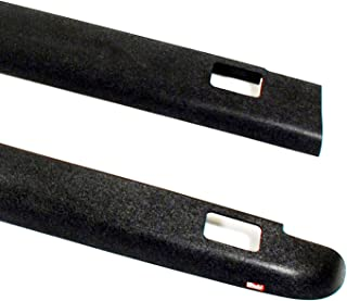 Wade 72-41621 Truck Bed Rail Caps Black Smooth Finish with Stake Holes for 1993-2011 Ford Ranger (Except STX) & 1994-1997 Mazda B-Series Pickup with 6ft bed (Set of 2)