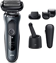 Sponsored Ad - Braun Electric Razor for Men, Series 6 6075cc SensoFlex Electric Shaver with Beard Trimmer, Rechargeable, W...