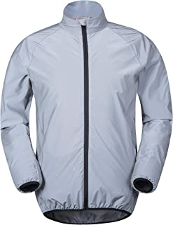 Mountain Warehouse 360 Reflective Mens Cycling Jacket - High Vis for Running