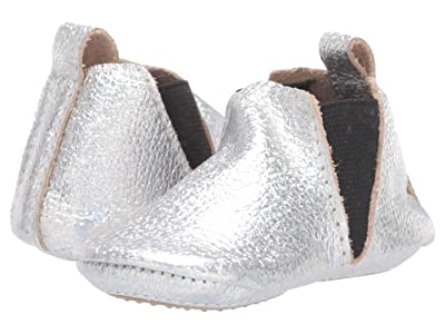 Freshly Picked Make Believe Chelsea Boot Mini Sole (Infant/Toddler) (Iridescent) Girl
