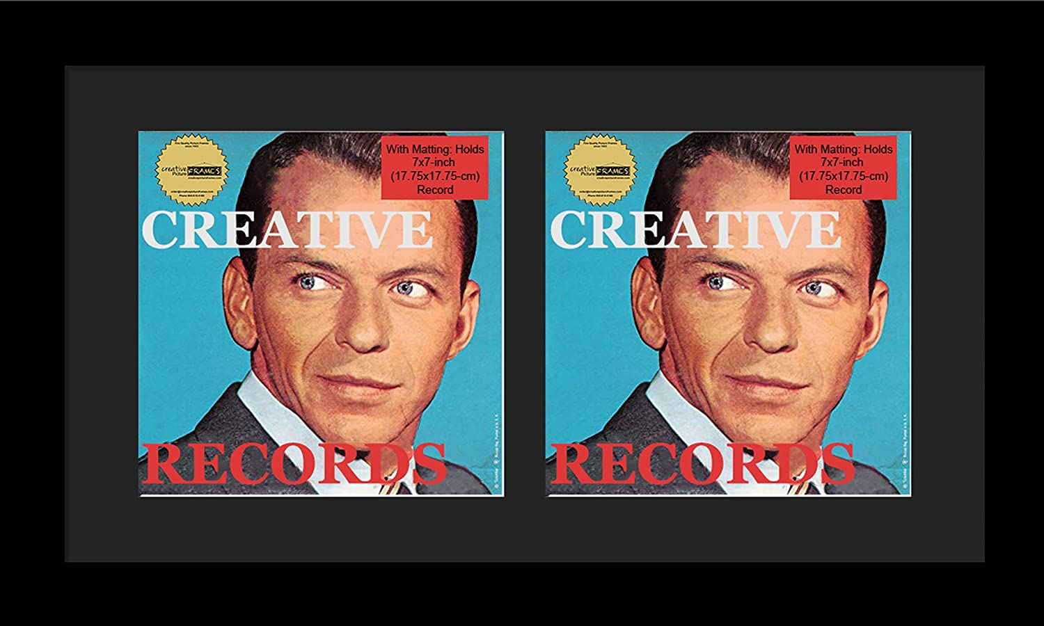 Creative Picture Frames 45 Rapid rise Double Cover Frame Record Tw Displays famous