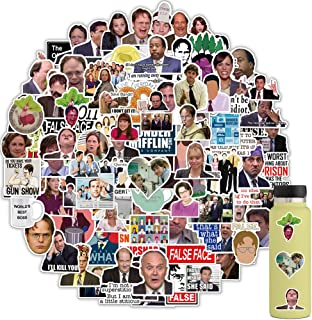 110PCS The Office Stickers New, The Office Laptop Stickers, The Office TV Show Merchandise Stickers, Funny Stickers for La...
