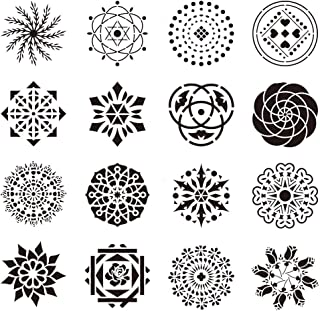 ❤️Jonerytime❤️Mandala Stencil Art Template Set Hollow Plastic Painting Template