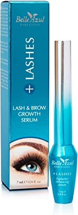 Belle Azul +Lashes Growth Serum - Longer, Thicker, Fuller Lashes & Enhanced Brows