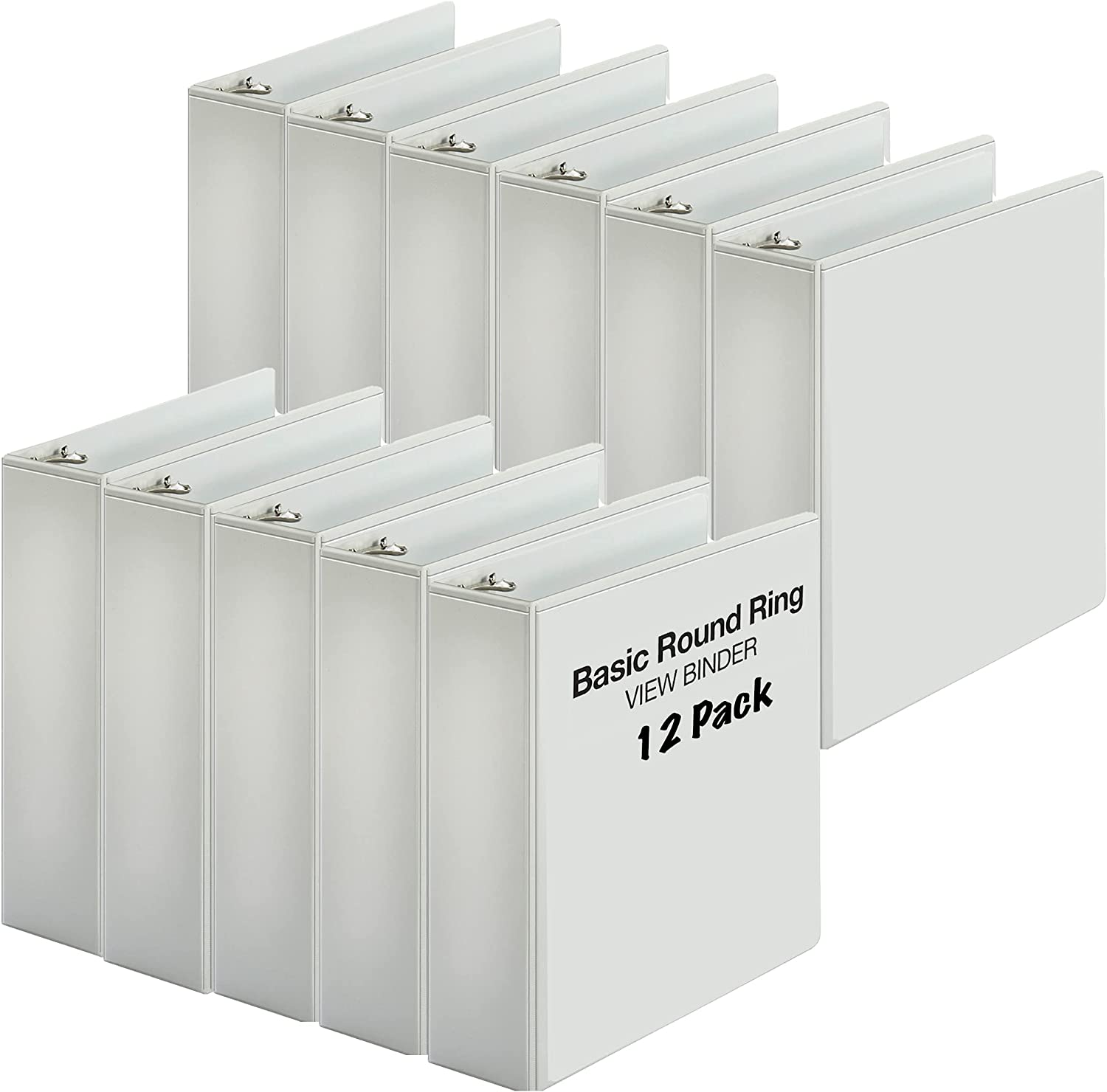 3 Inch Binder Ring View Heavy Binders for Rugged Award-winning store Duty Los Angeles Mall