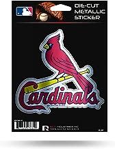 Rico Industries Cardinals - Sl Die Cut Metallic Sticker