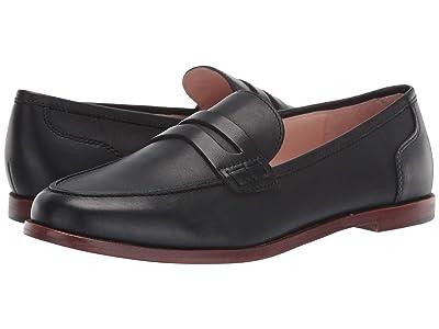 J.Crew Ryan Penny Loafers in Leather (Black) Women