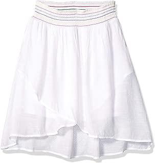 summer white skirts
