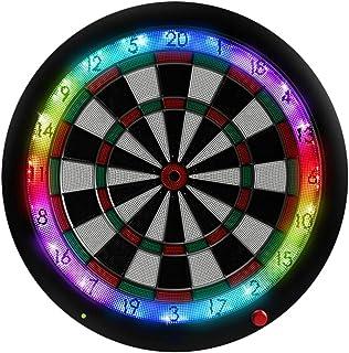 EXCLVEA Dartbräda professionell speldartbräda kan anslutas till Bluetooth automatisk poäng mjuk darttavel elektronisk dart...