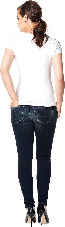Noppies Vêtements De Grossesse Female Jean Skinny Britt Dark Stone Wash