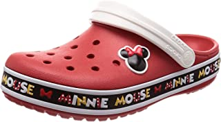 Men's and Women's Crocband Disney Minnie Mouse III Clog
