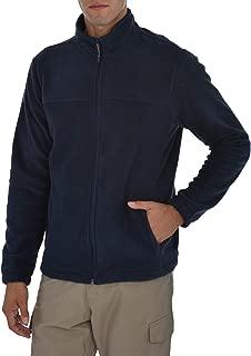 Mens Full Zip Performance Polar Fleece Jacket Sweatshirt with Pockets