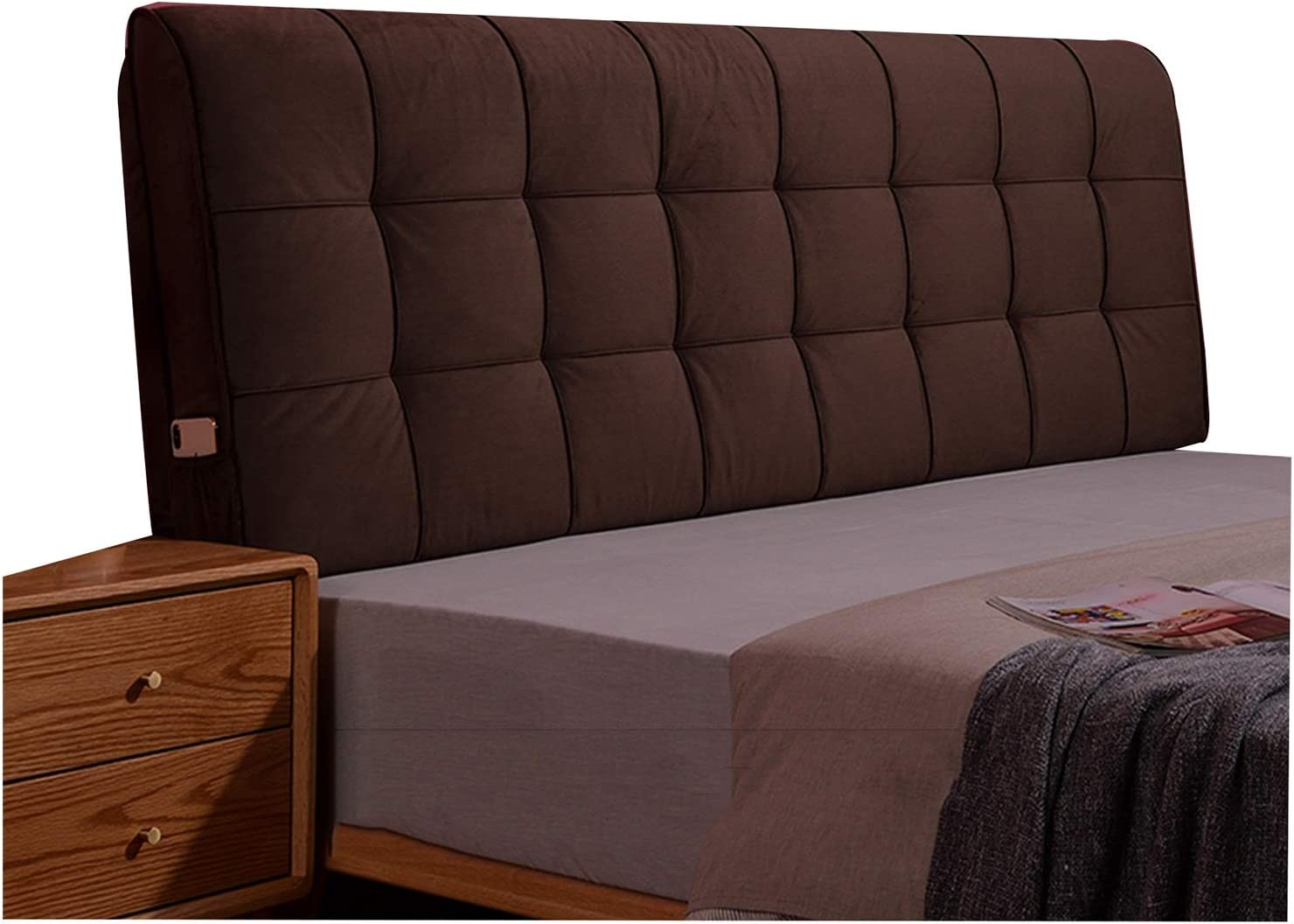 Dealing full price reduction Headboard Bed Back Cushion Reading Lumbar Backrest Large special price !! Support Pad