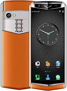Mobile Phones K-TOUCH M17, 2GB+32GB, Face ID Identification, 3.46 inch Android 8.1 MTK6739V/CWA Quad Core up to 1.5GHz, Network: 4G, Dual SIM, Not Support Google Play (Black) (Color : Orange)