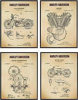 Amazon Com Harley Davidson Room Decor