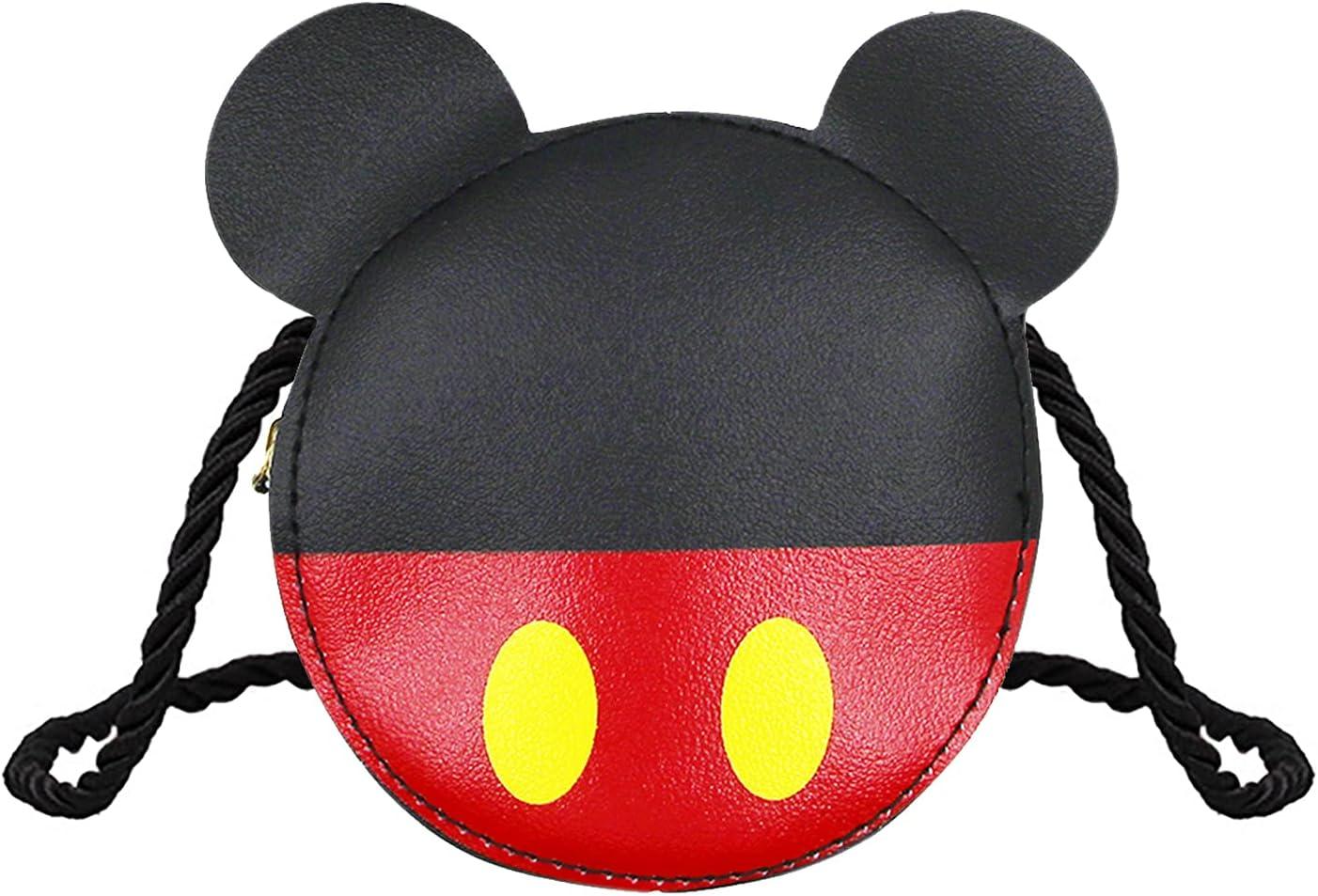 Cute Mouse Ears Kids Purse for New item Super intense SALE Wal Handbag Little Shoulder Girls