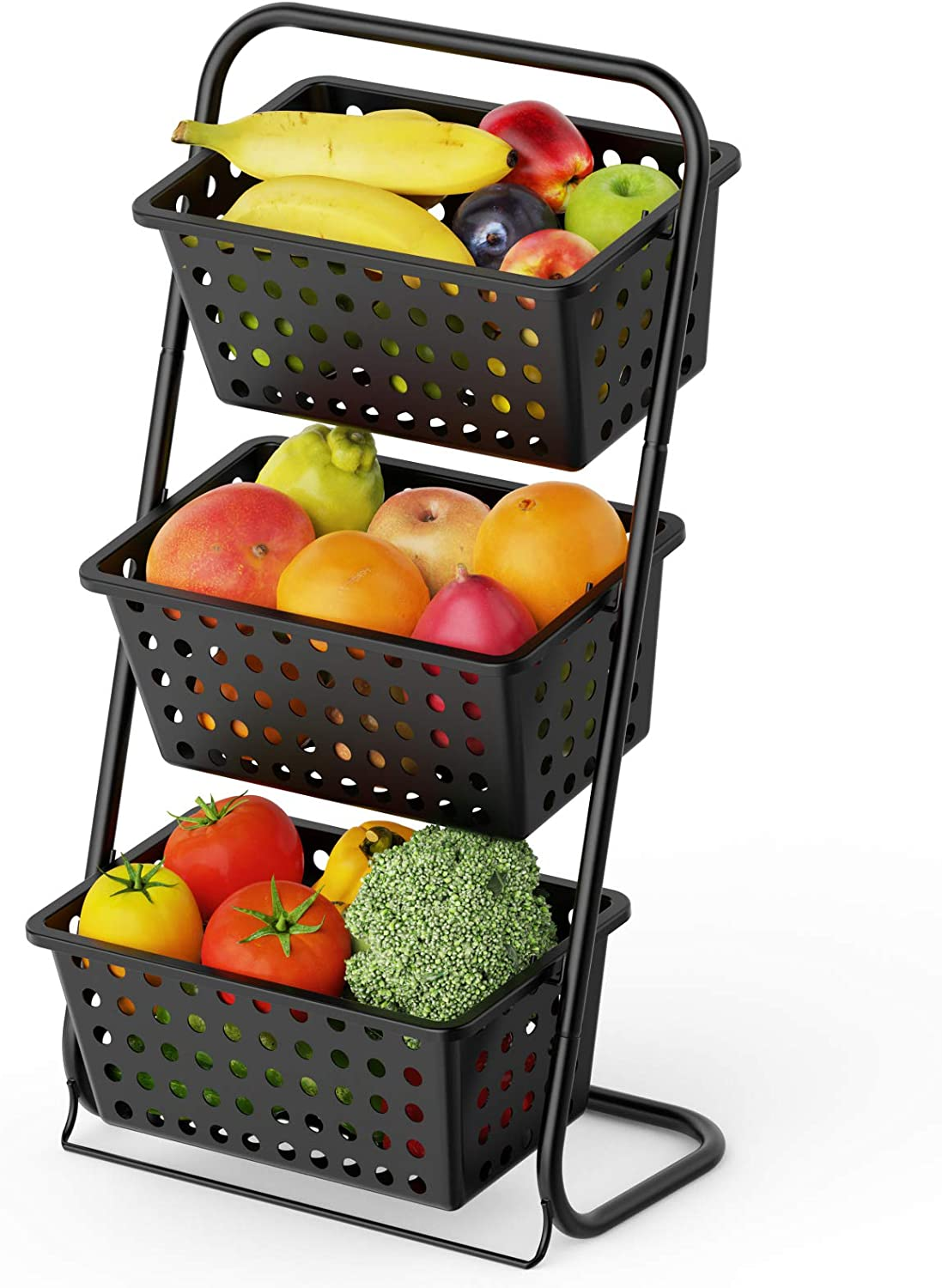 3 Tier Fruit Basket Super intense SALE Stand Market Cambond Same day shipping Counterto