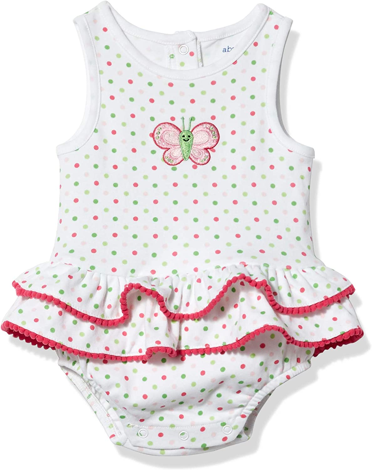 absorba Baby Daily bargain sale Girls' Romper All stores are sold Sleeveless