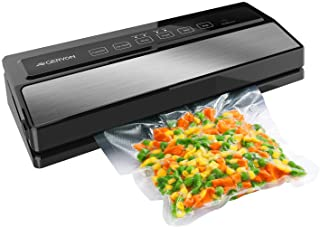 GERYON Vacuum Sealer Machine, Automatic Food Sealer for Food Savers w/Starter Kit|Led Indicator Lights|Easy to Clean|Dry &...