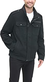 Levi's Men's Washed Cotton Two Pocket Military Jacket (Regular and Big and Tall Sizes)